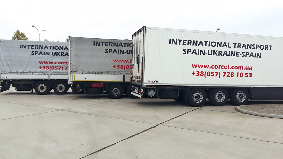 Delivery of furniture from 2 EU countries to Ukraine