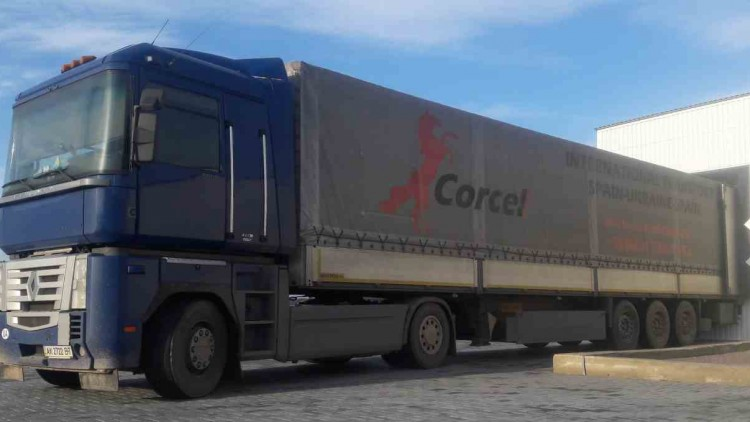 Transportation of metal coils from Austria