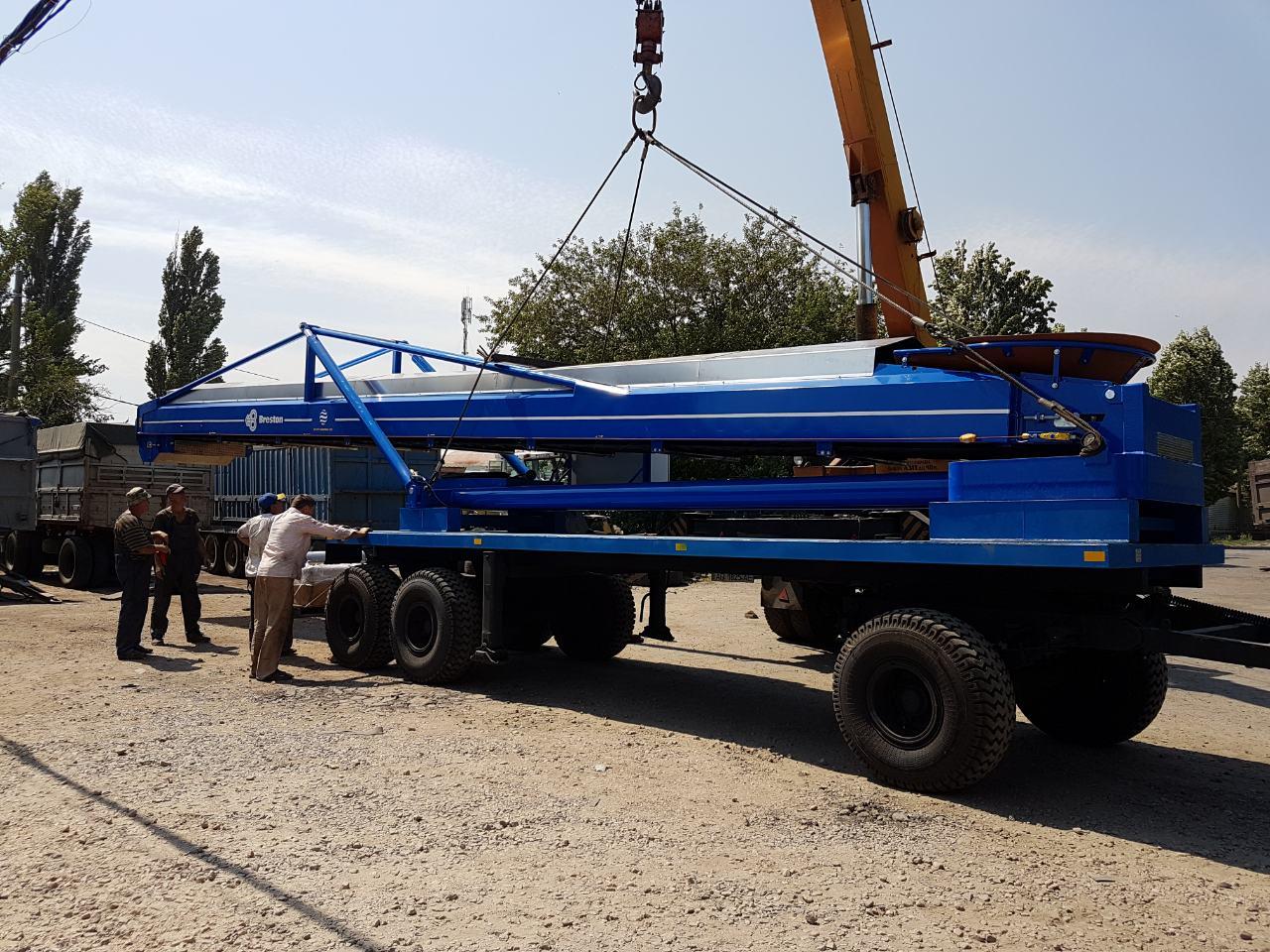 Transportation of handling equipment for bulk goods, фото-1