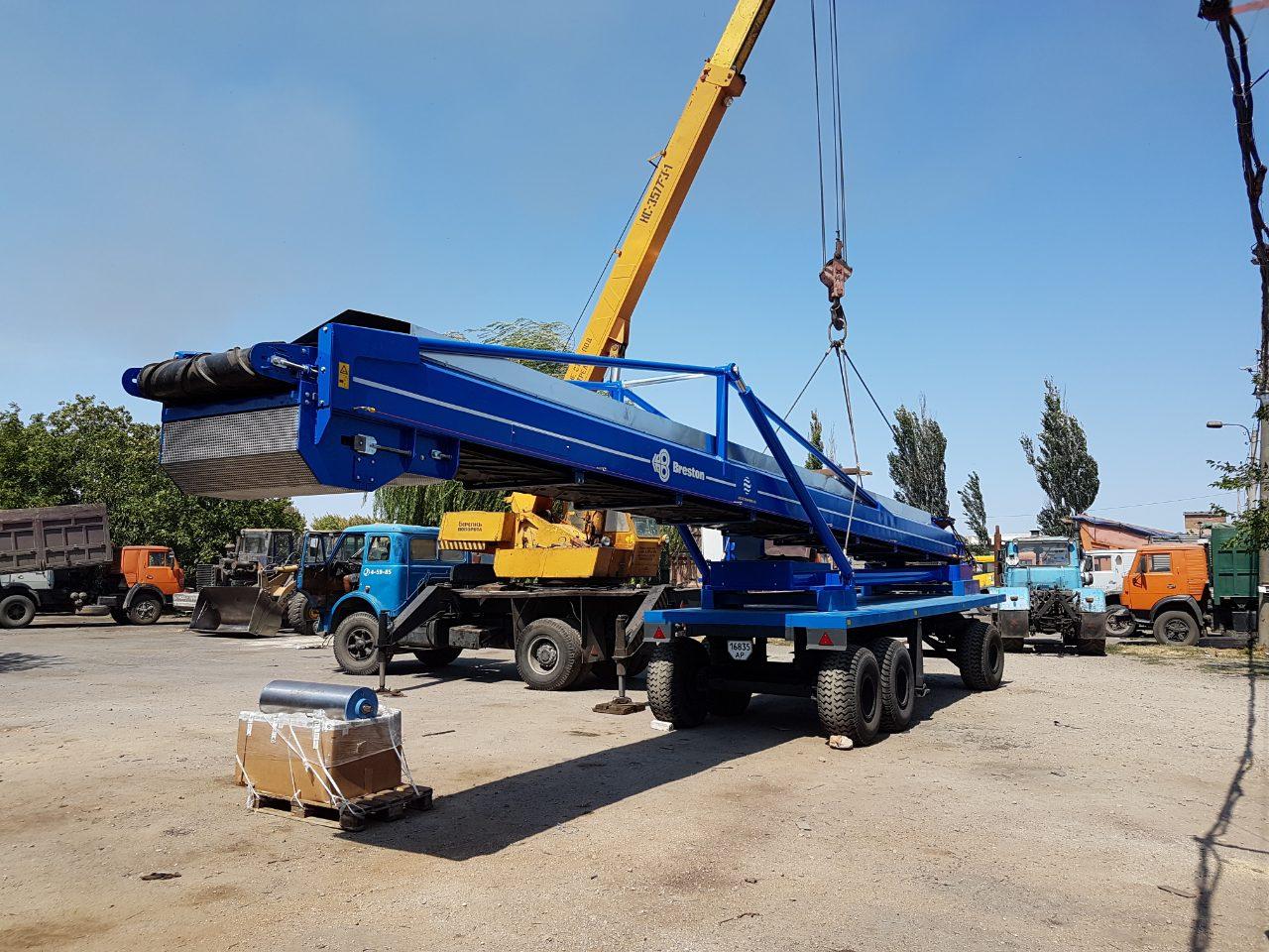 Transportation of handling equipment for bulk goods, фото-2