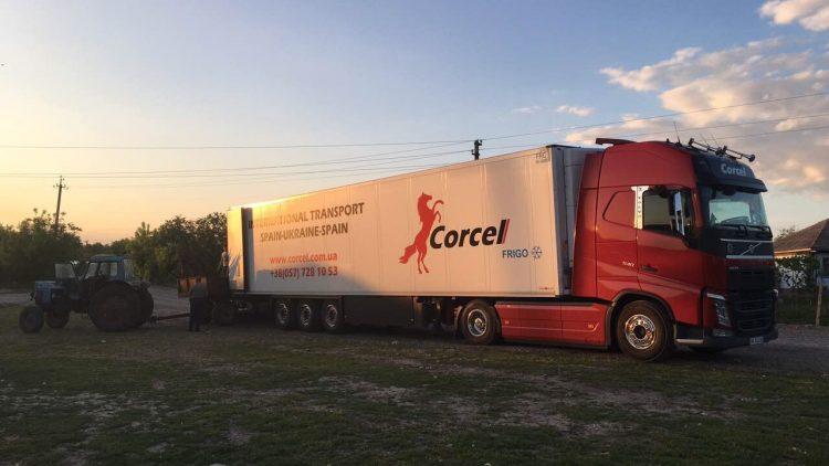 Transporte internacional de plántulas de Francia a Ucrania