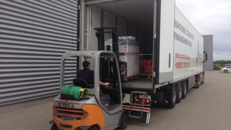 Transportation of hydraulic fluid from Spain (ADR 3)