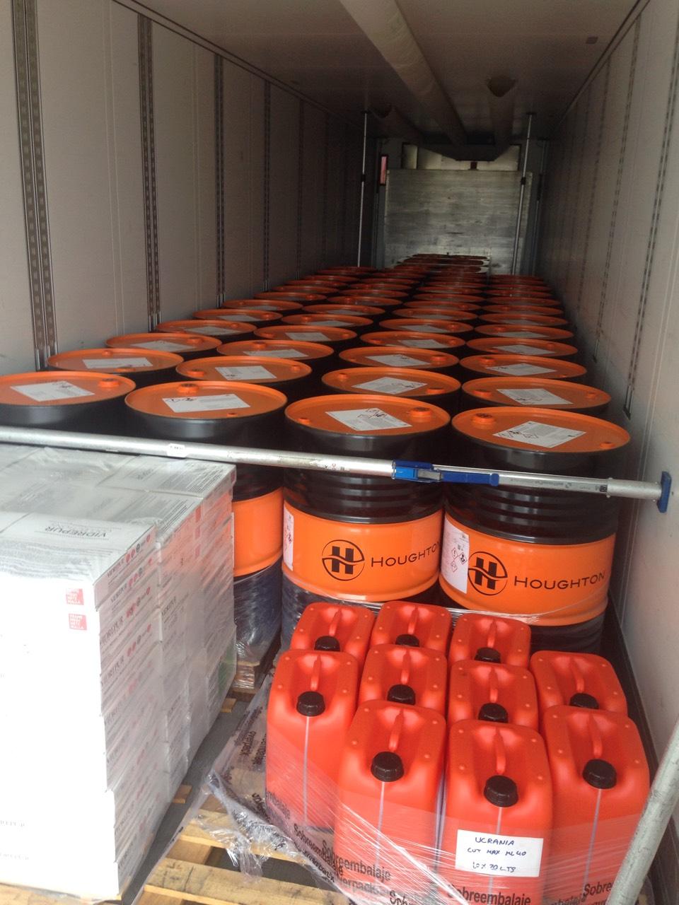 Transportation of hydraulic fluid from Spain (ADR 3), фото-1