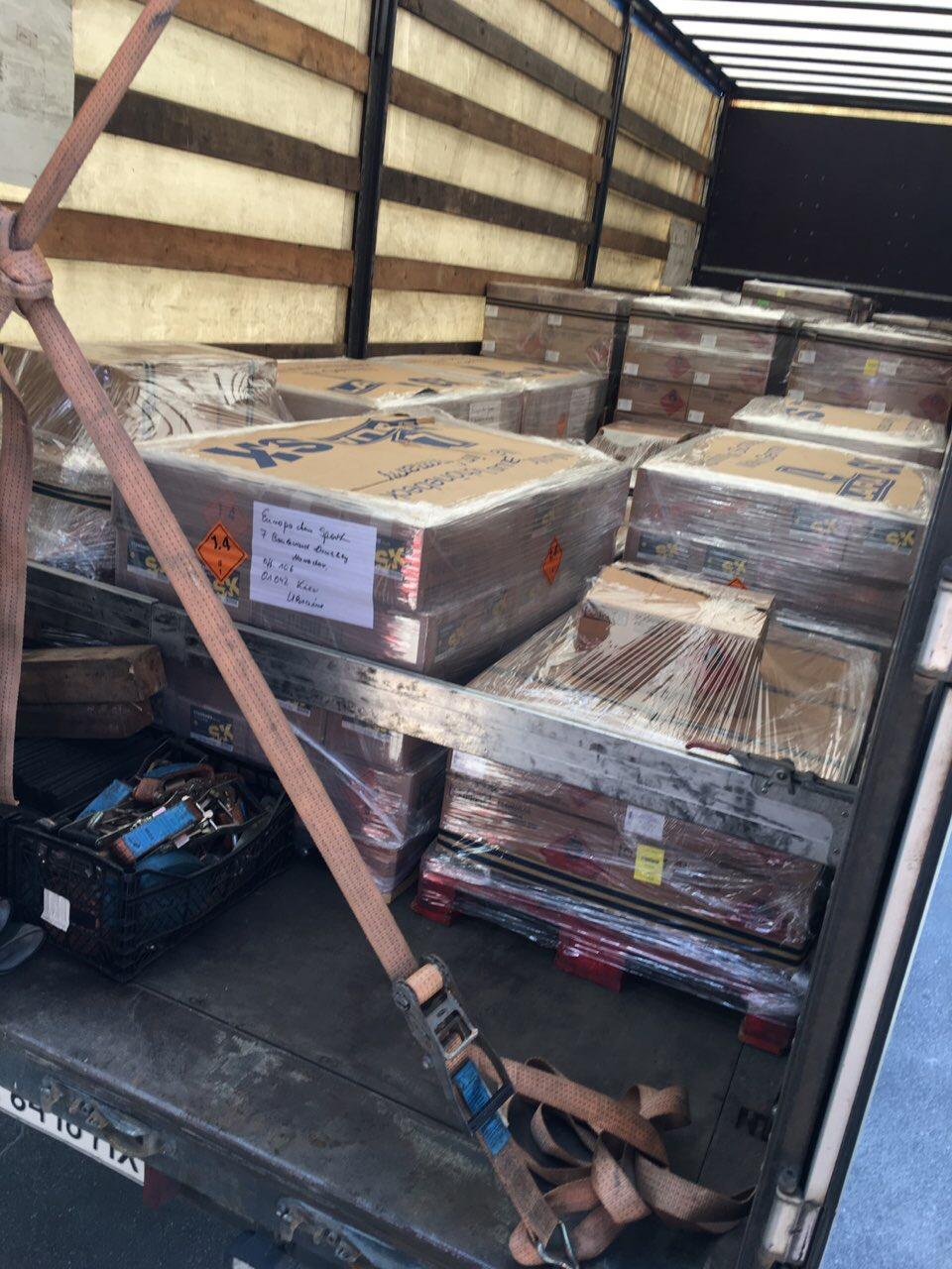 Перевезення запальничок з Іспанії в Україну (ADR 2), фото-2
