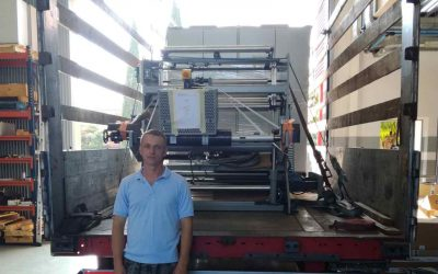 We delivered equipment from Spain to Ukraine (Dnepr)