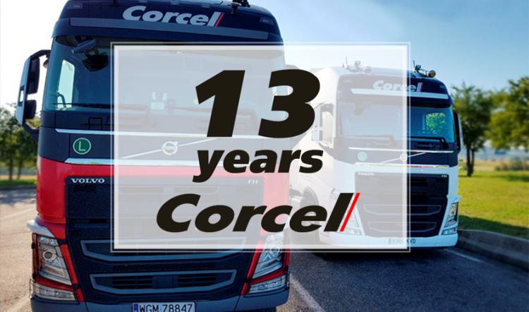 С днем рождения Corcel!
