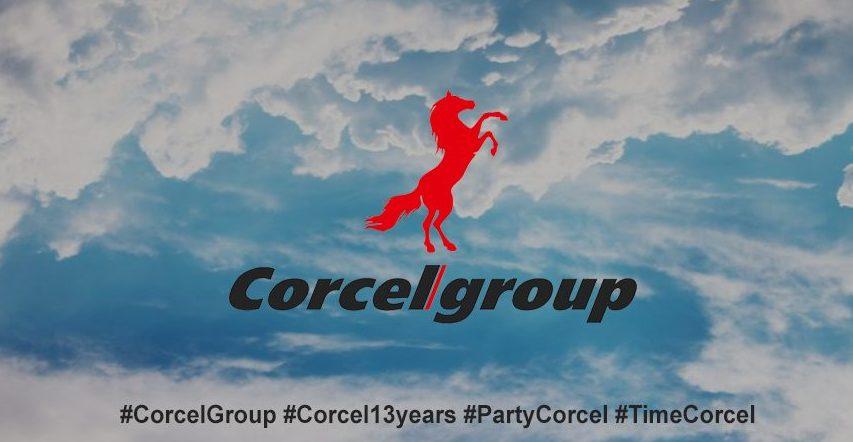 Отмечаем 13 летие Corcel!