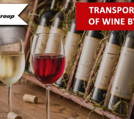 Transportation of wine by road