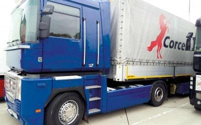 Перевозка паркетной заготовки в Испанию